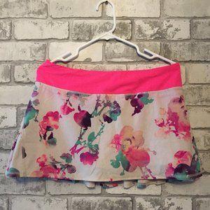 Lululemon Floral Skort Size 8